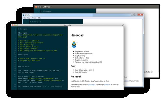 Haroopad - Imagem 1 do software