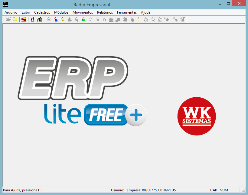 ERP Lite Free Plus - Imagem 1 do software