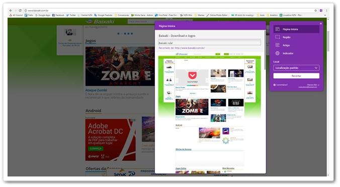 OneNote Web Clipper Download para Windows em Português Grátis