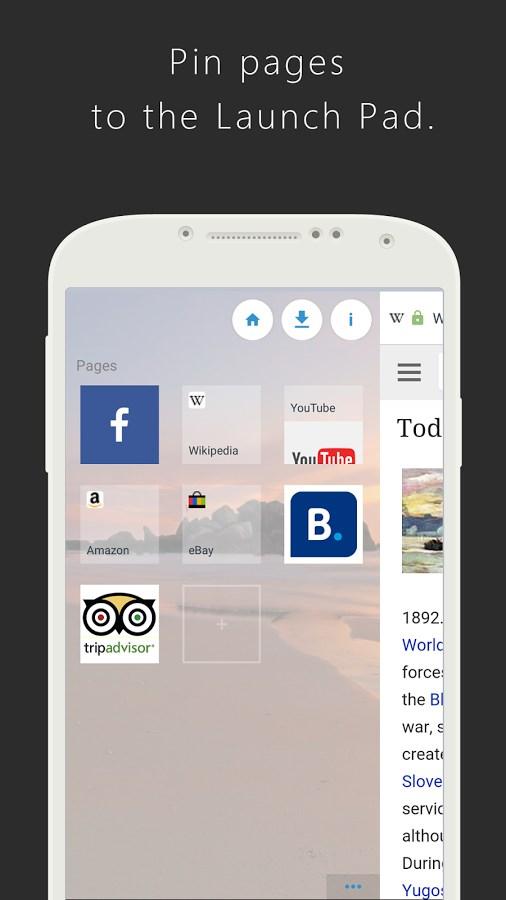 Surfy Browser - Imagem 2 do software