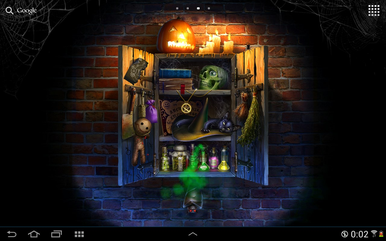 Halloween Live Wallpaper - Imagem 1 do software