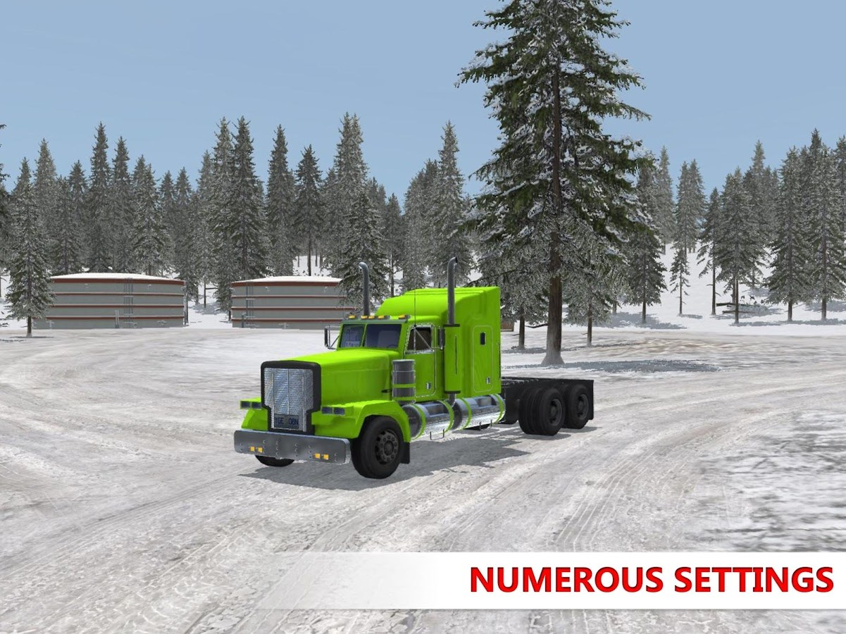 Arctic Trucker Simulator - Imagem 15 do software