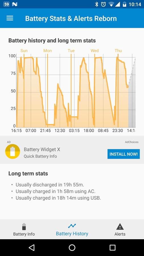 Battery Stats & Alerts Reborn - Imagem 2 do software