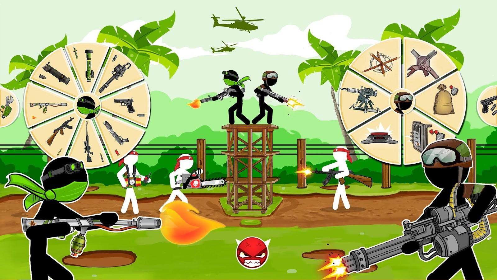 Stickman Army : The Resistance - Imagem 1 do software