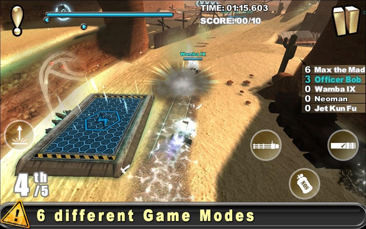 Cracking Sands - Combat Racing - Imagem 3 do software