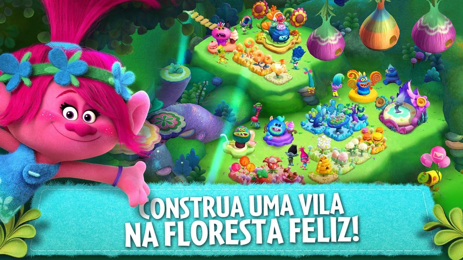Trolls: Crazy Party Forest! - Imagem 1 do software