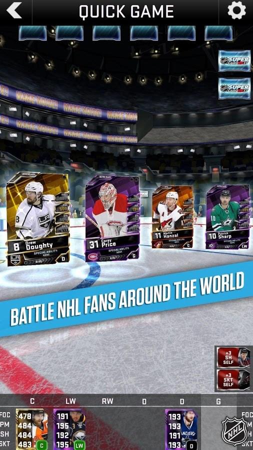 NHL SuperCard 2K17 - Imagem 1 do software