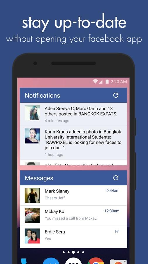 Swipe Widget for Facebook BETA - Imagem 2 do software