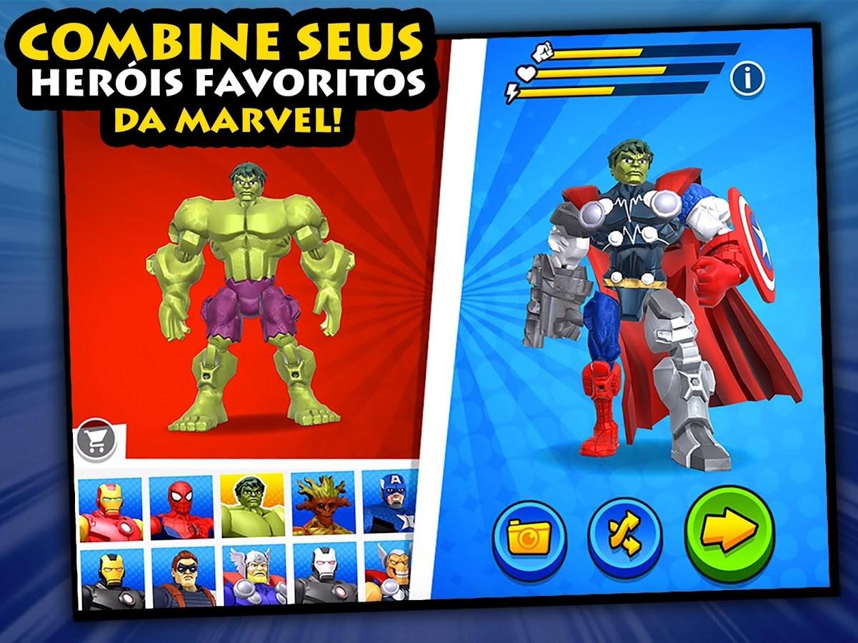 Mix+Smash: Marvel Mashers - Imagem 1 do software