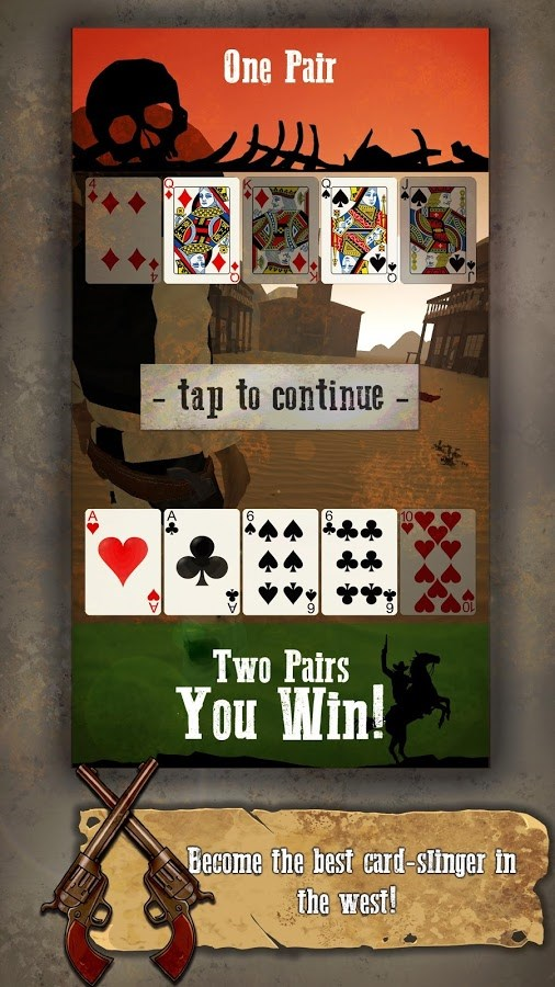 Outlaw Poker - Imagem 2 do software
