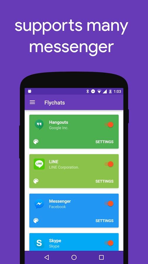 Flychat - Imagem 4 do software