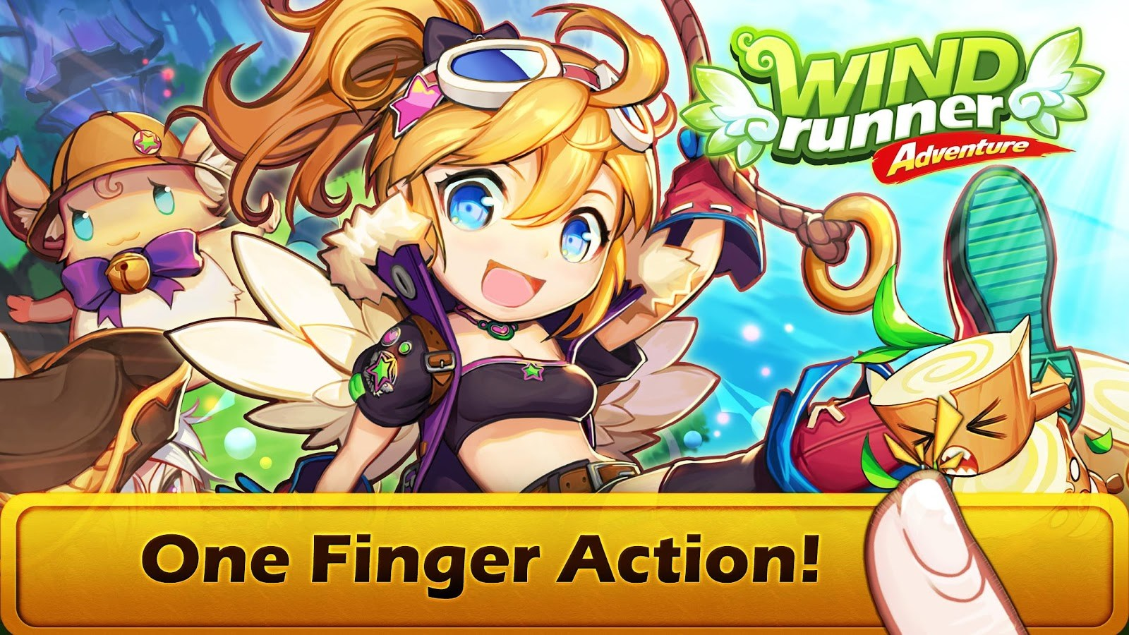 WIND Runner Adventure - Imagem 1 do software