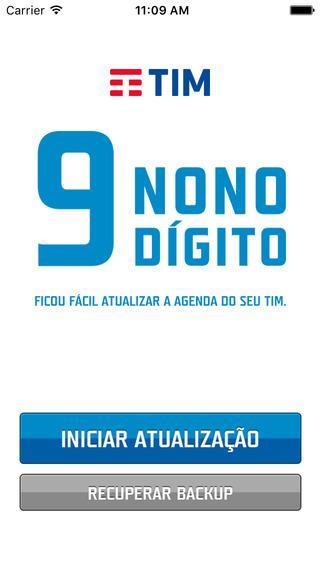 9 Dígito TIM - Imagem 1 do software