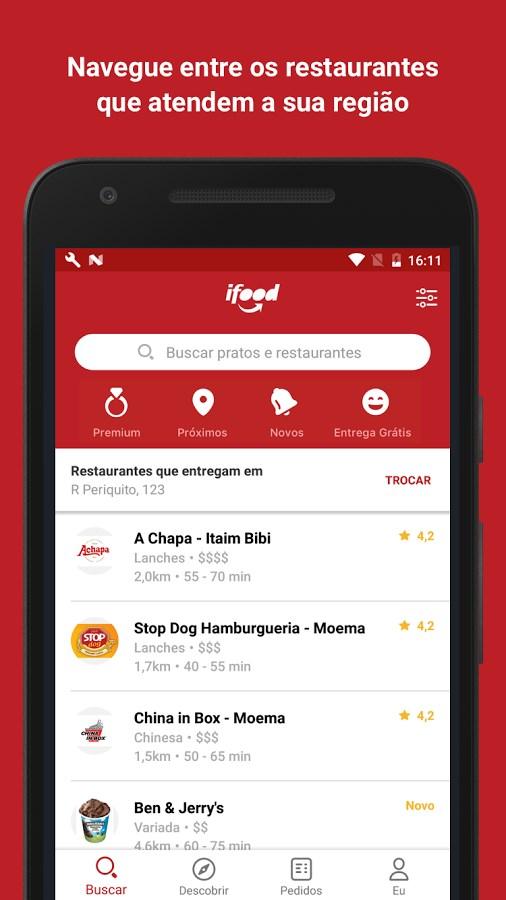 iFood - Delivery de Comida - Imagem 1 do software