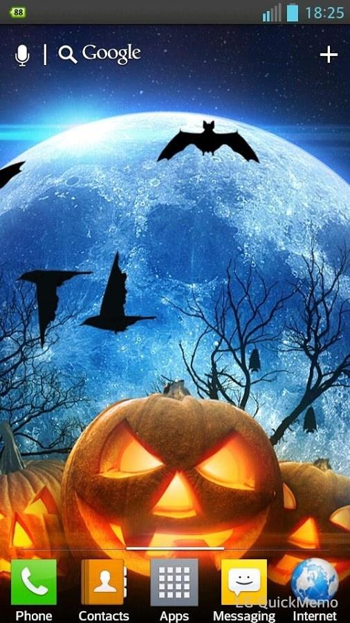 Halloween HD Live Wallpaper - Imagem 1 do software