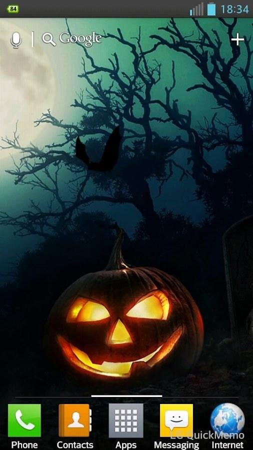 Halloween HD Live Wallpaper - Imagem 2 do software