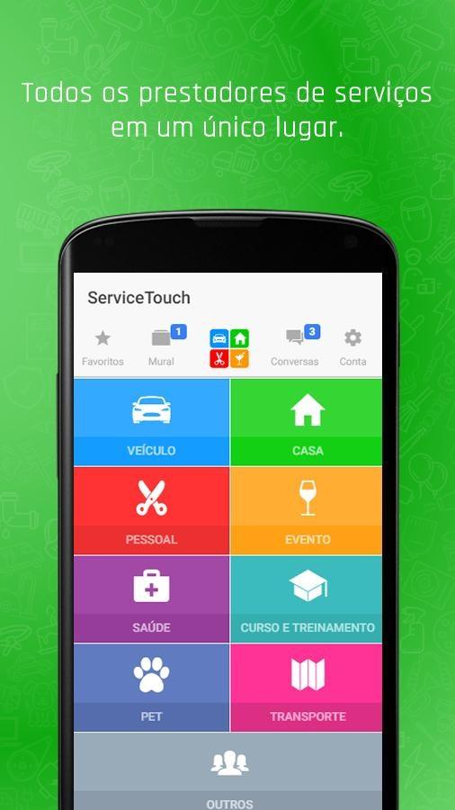 ServiceTouch - Imagem 1 do software