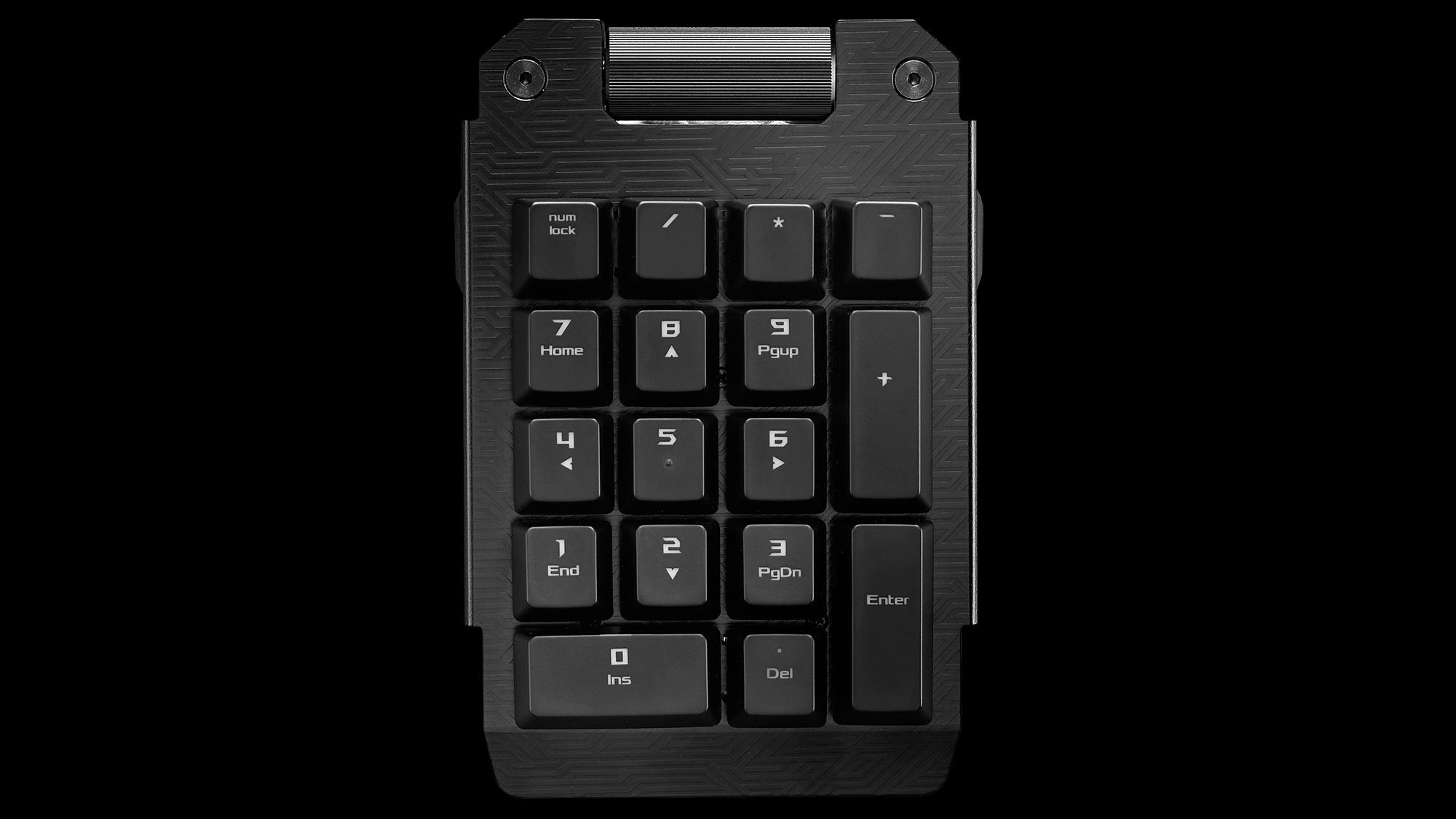 Teclado numérico destacável? Essa é a promessa do novo teclado gamer da ROG