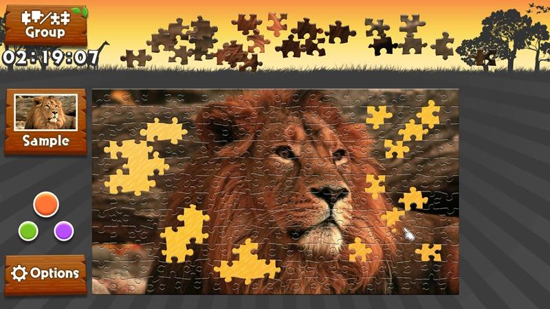 Wild Animals - Animated Jigsaws - Imagem 1 do software