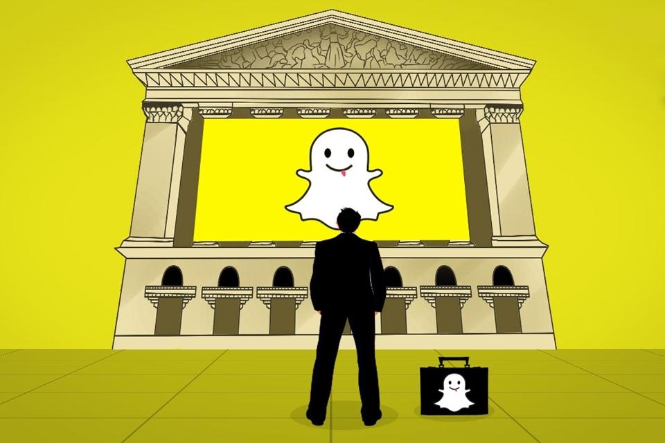 27514f20353 Snapchat entra com pedido secreto de abertura de ações nos EUA