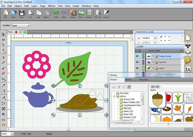 EasySignCut Pro - Imagem 1 do software
