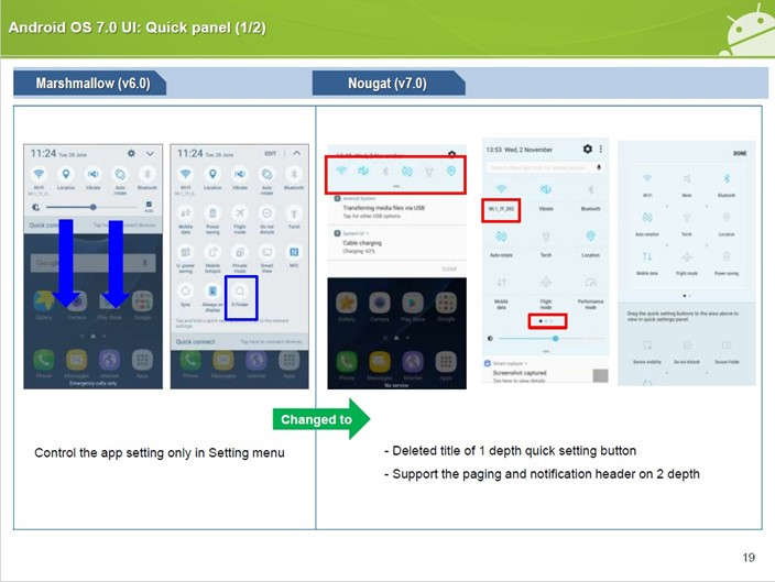 Saiba todas as novidades do Android 7 0 no Samsung Galaxy S7 edge