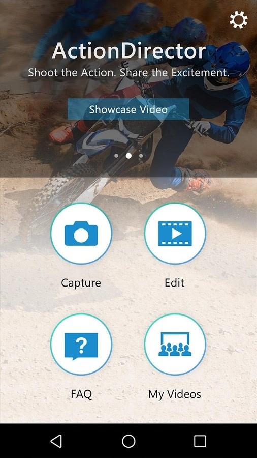 ActionDirector Video Editor - Imagem 1 do software