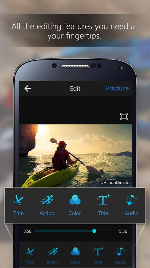 ActionDirector Video Editor - Imagem 2 do software