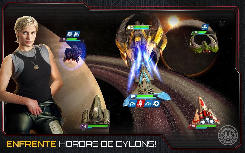 Battlestar Galactica: Squadrons - Imagem 1 do software