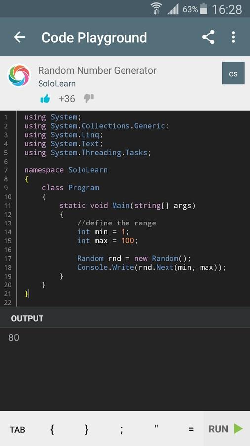 SoloLearn Coding Community - Imagem 2 do software