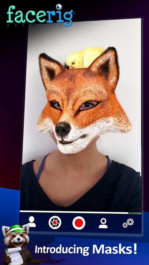 FaceRig - Imagem 3 do software