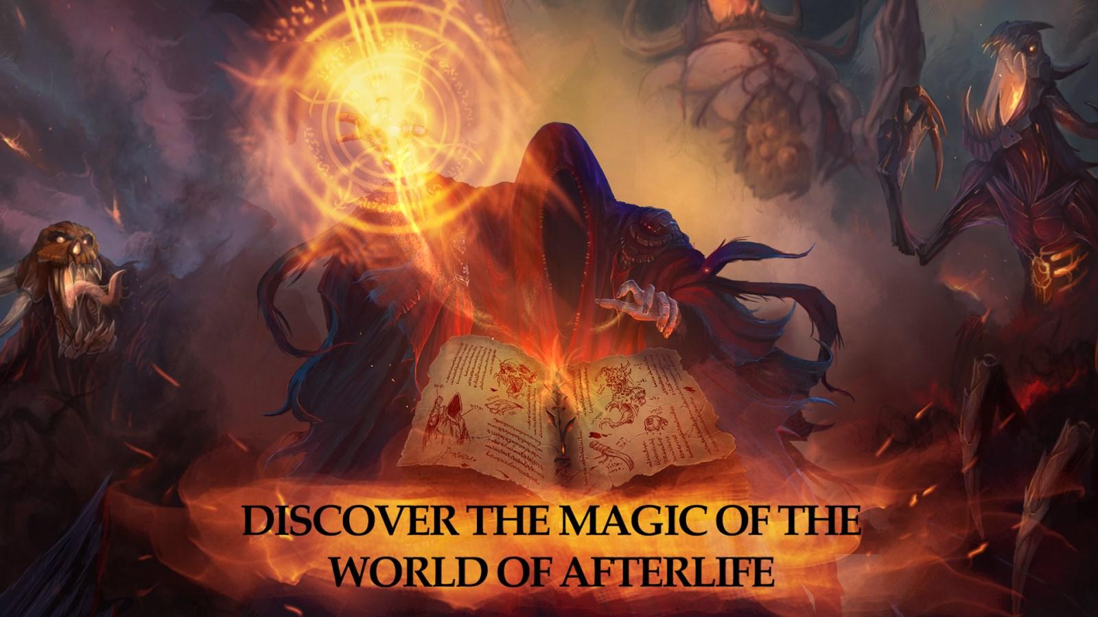 Afterlife: RPG Clicker CCG - Imagem 1 do software