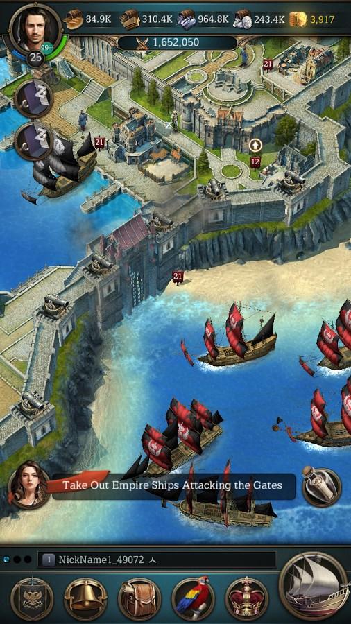 Oceans and Empires - Imagem 2 do software