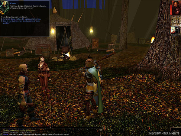 Neverwinter Nights no Baixaki