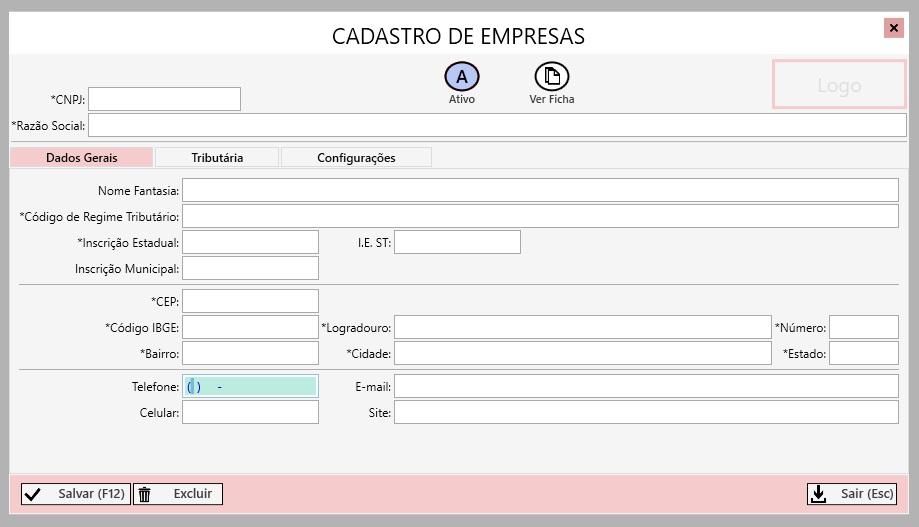 Emissor de NF-e LabDS - Imagem 1 do software