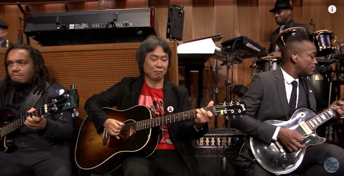 Super Mario Run: novo gameplay e Miyamoto musicalizando no Jimmy Fallon!