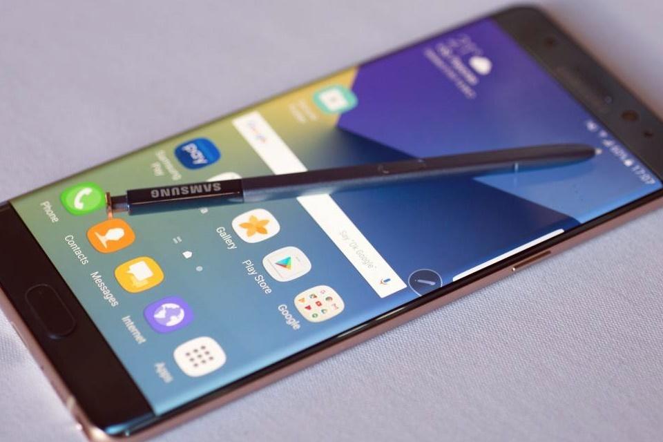 Samsung corta serviços do Galaxy Note 7 no Canadá
