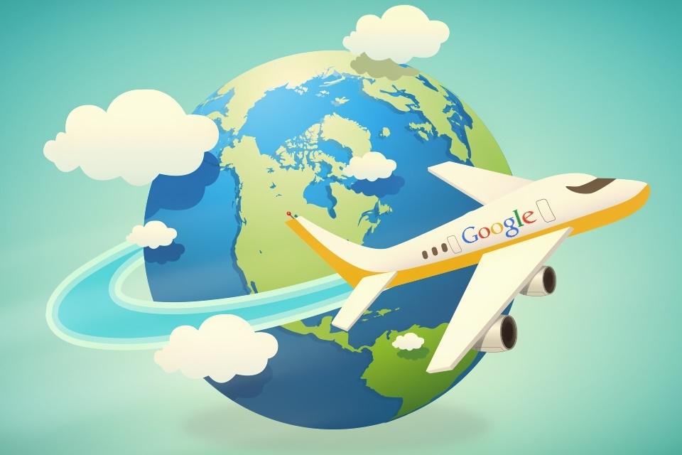 Google incrementa serviço de voo com sugestões de destino