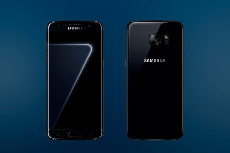 Galaxy S7 Edge ganha cor 'Jet Black'; mas ela se chama 'Black Pearl'