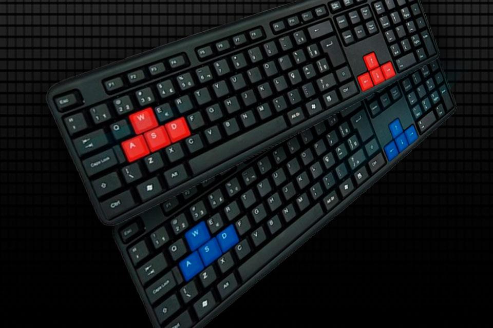 Bem em conta: teclado USB da NewLink tem hardware simples e visual colorido