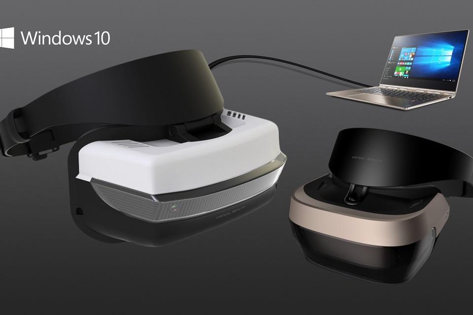 Você está pronto? Microsoft revela requisitos para o headset Windows 10 VR