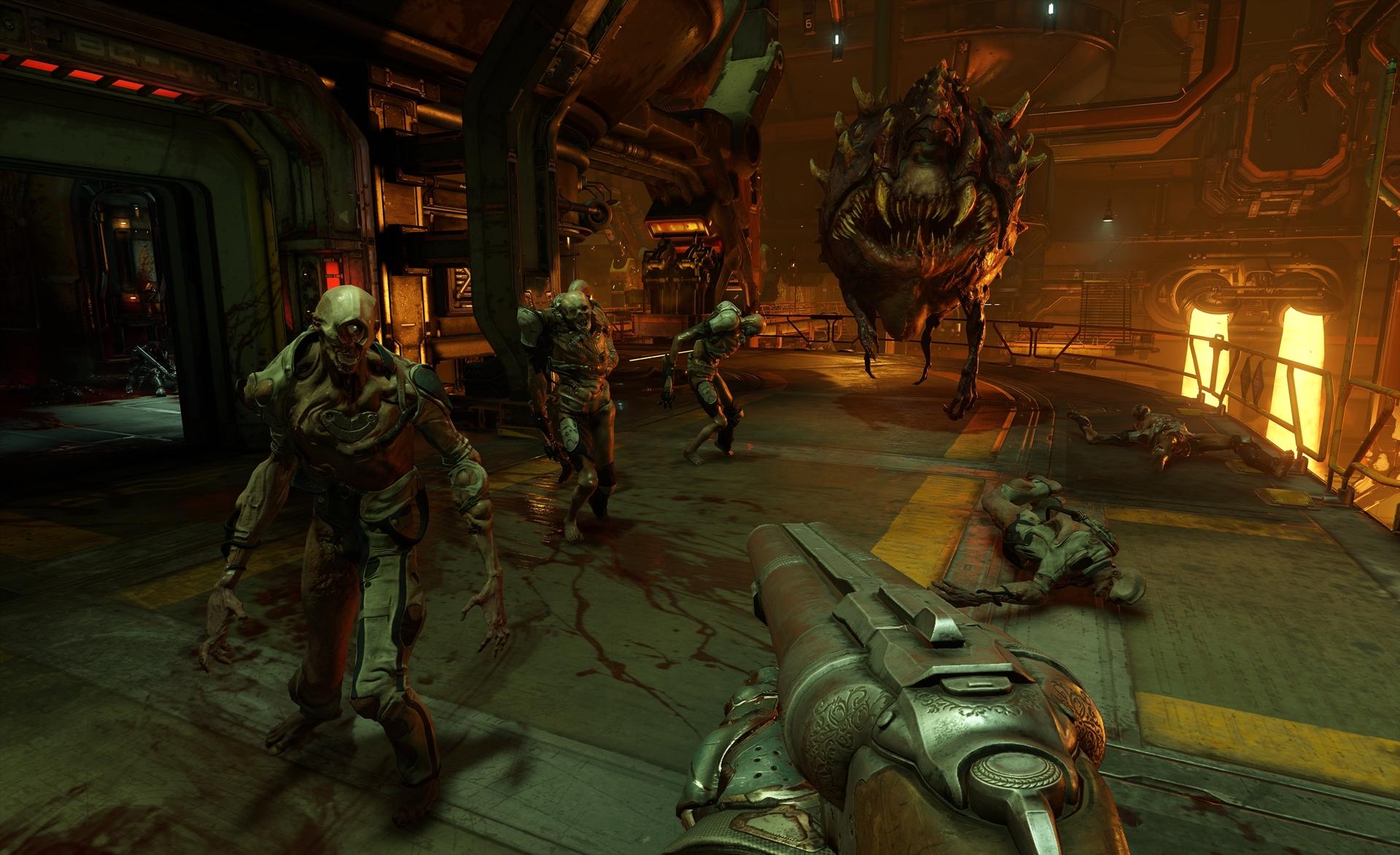 Doom 4 foi cancelado porque se parecia muito com um Call of Duty moderno