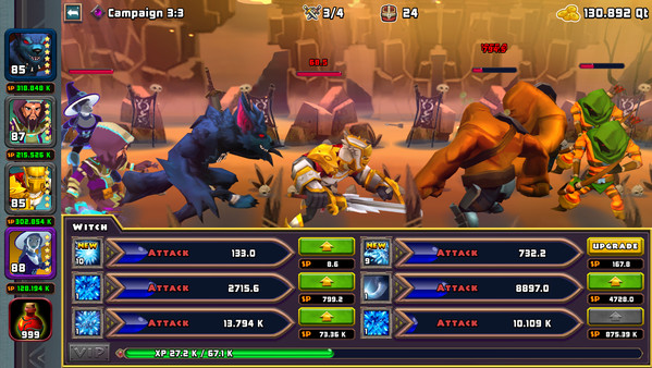 Heroes of Havoc: Idle Adventures - Imagem 1 do software