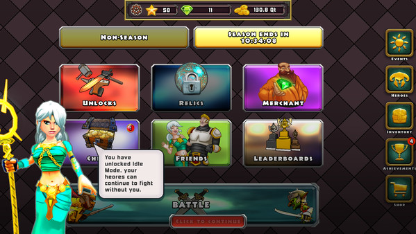 Heroes of Havoc: Idle Adventures - Imagem 2 do software