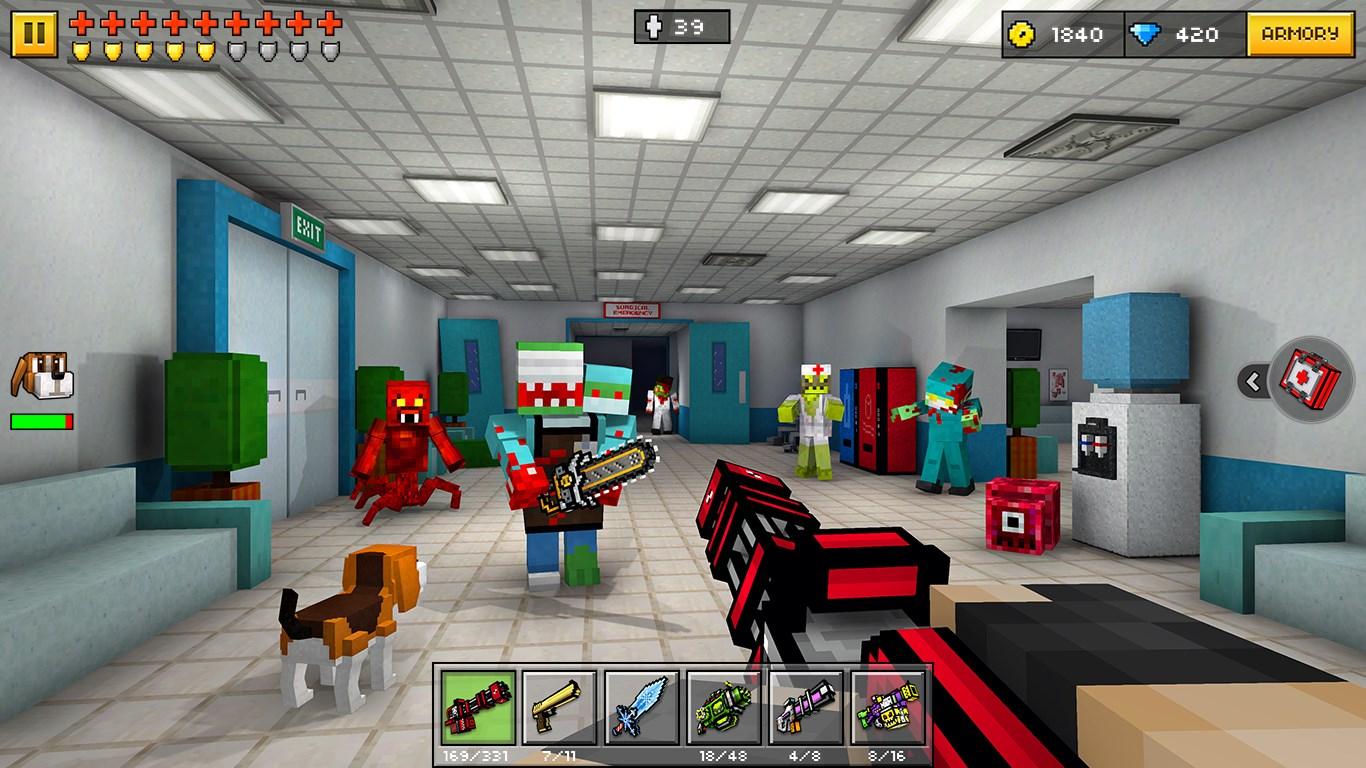 Pixel Gun 3d Minecraft Style Download