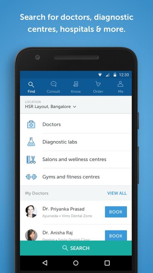 Practo - Your Health App - Imagem 1 do software