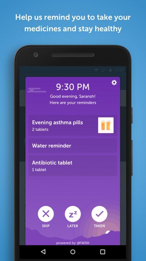 Practo - Your Health App - Imagem 2 do software