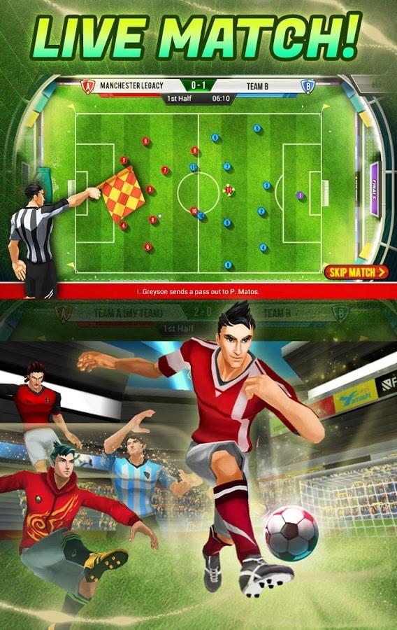 Football Saga Fantasista - Imagem 1 do software