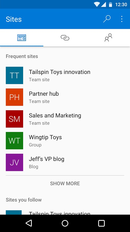 Microsoft SharePoint - Imagem 1 do software