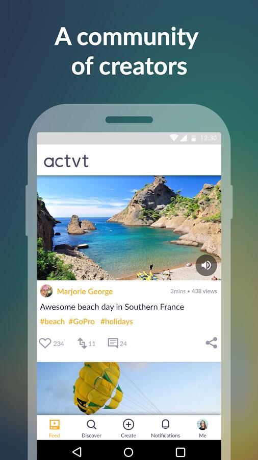Actvt - Make Video Stories - Imagem 2 do software